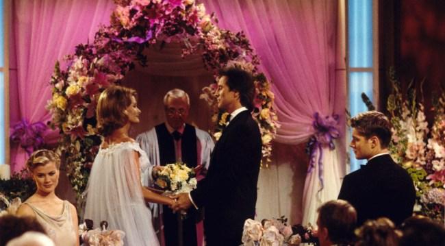 John and Marlena's wedding 1999