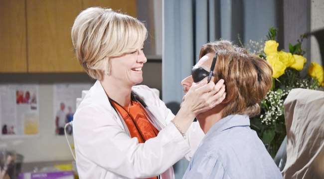 Steve gets his patch back from Kayla