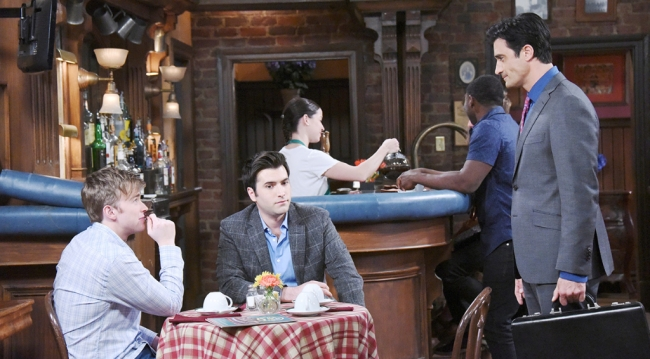 Ted puts the screws to Will and Sonny
