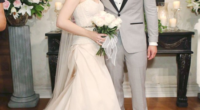 Liam and Hope's wedding