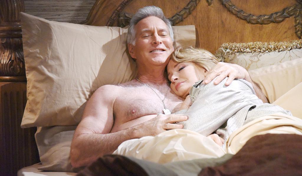 John and Marlena make love