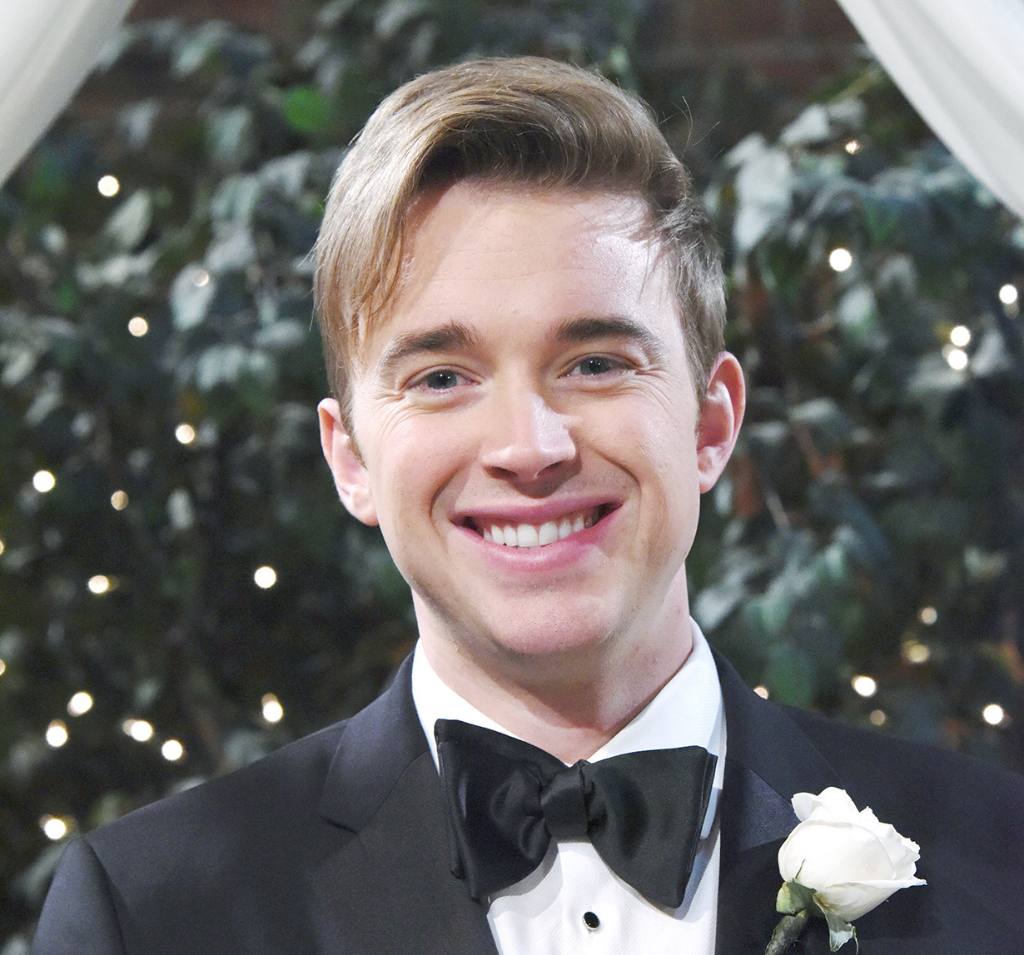 Will at John and Marlena's wedding