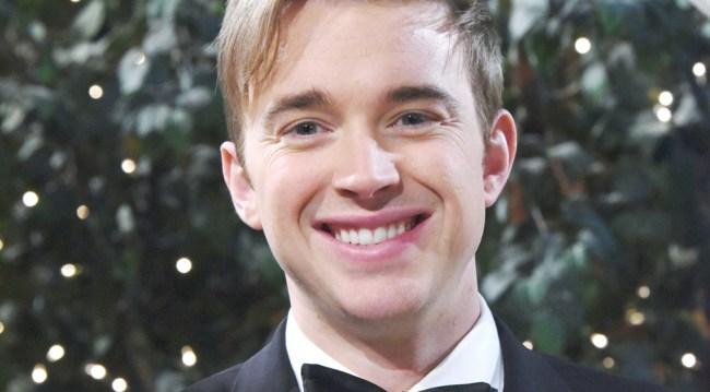 Will at John and Marlena's wedding
