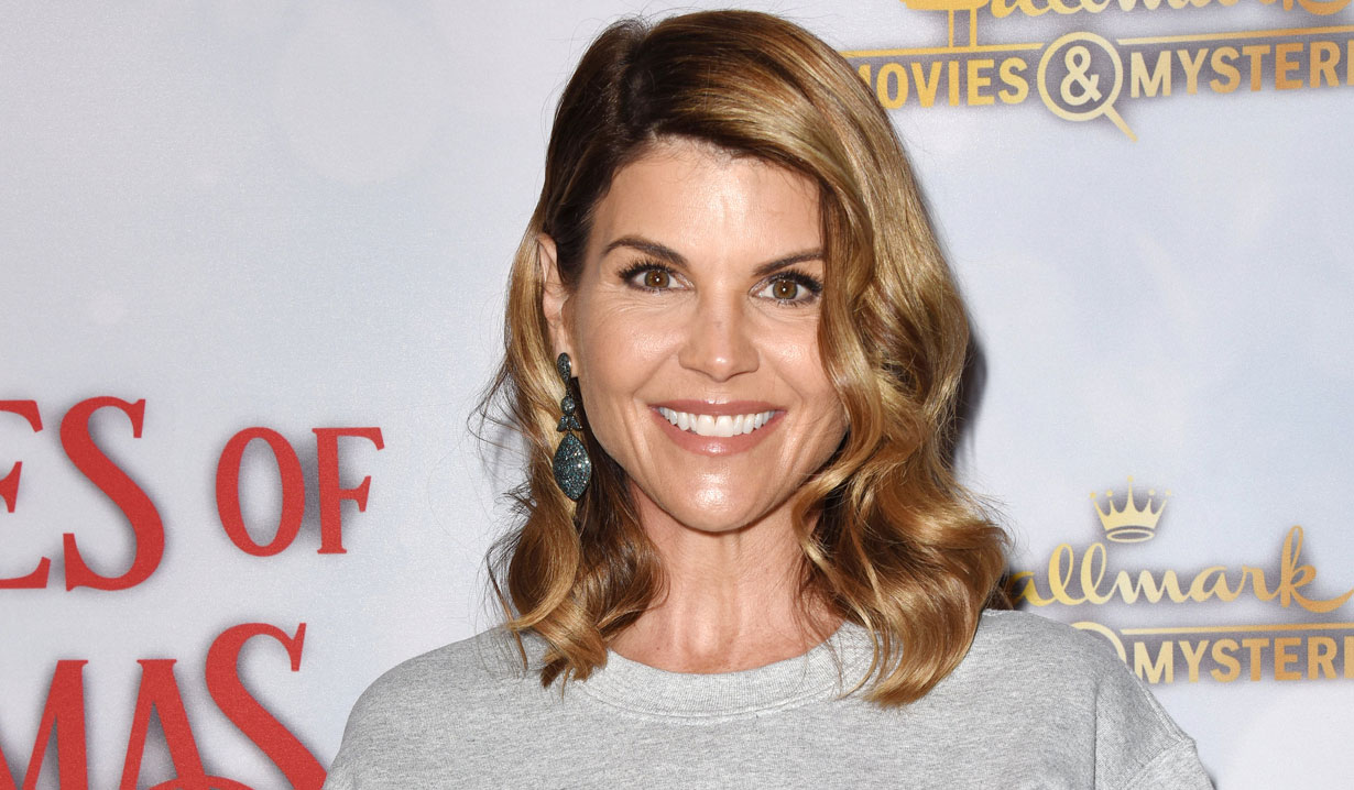 Lori Loughlin at holiday party 2018