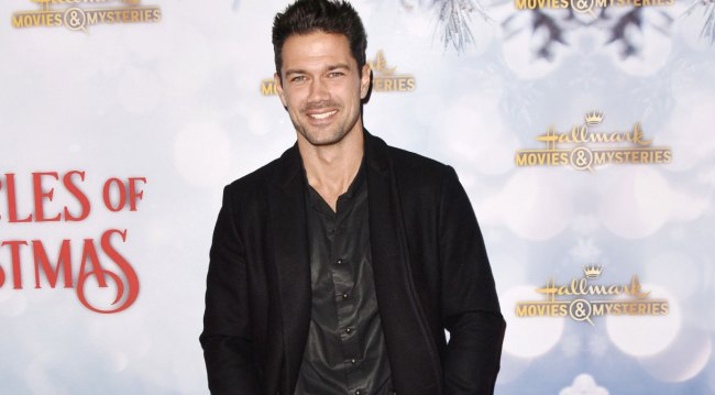 GH alum Ryan Paevey at holiday party 2018