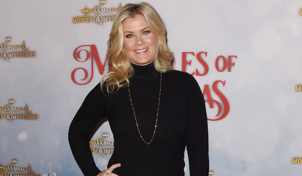 Days' Alison Sweeney at Hallmark holiday party 2018