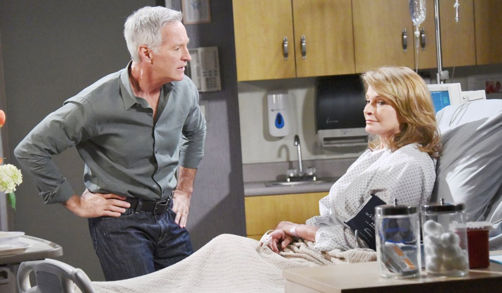 Hattie as Marlena with John
