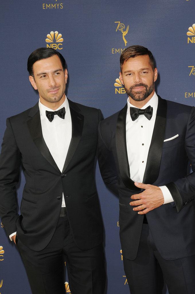 Ricky Martin and husband Jwan Yosef