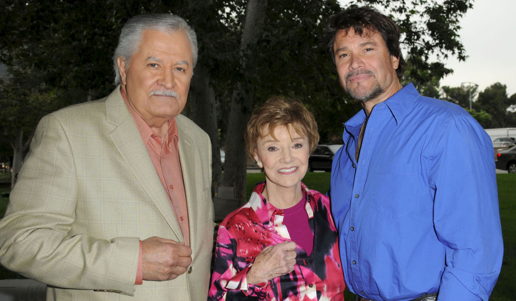 John Aniston, Peggy McCay and Peter Reckell, 2009