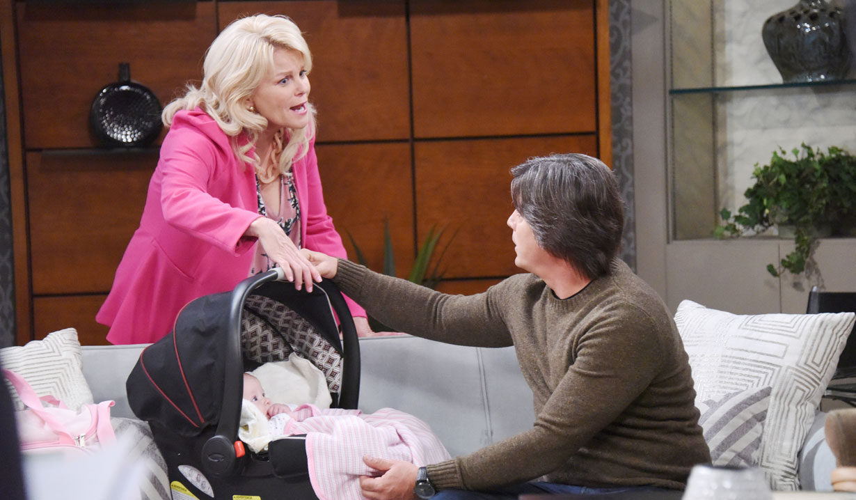Bonnie claims Lucas is a father on Days of our Lives