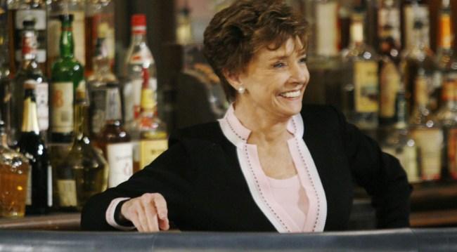 Caroline at Brady's Pub, 2008