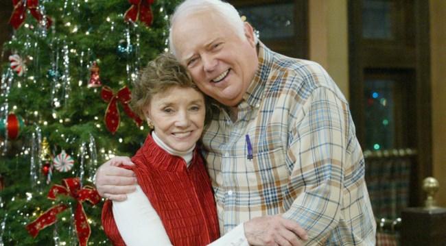 Caroline and Grandpa Shawn, 2006