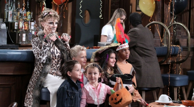 Caroline on Halloween, 2010