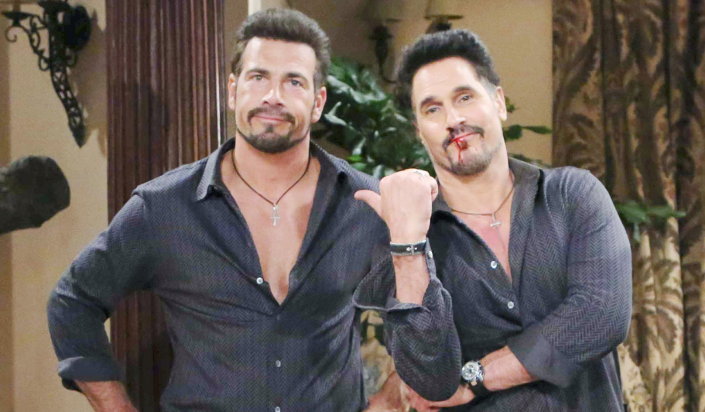 Don Diamont with Bill body double