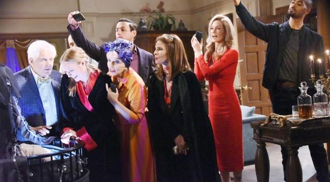 Stefan, Julie, Princess Gina, Kristen, Abigail