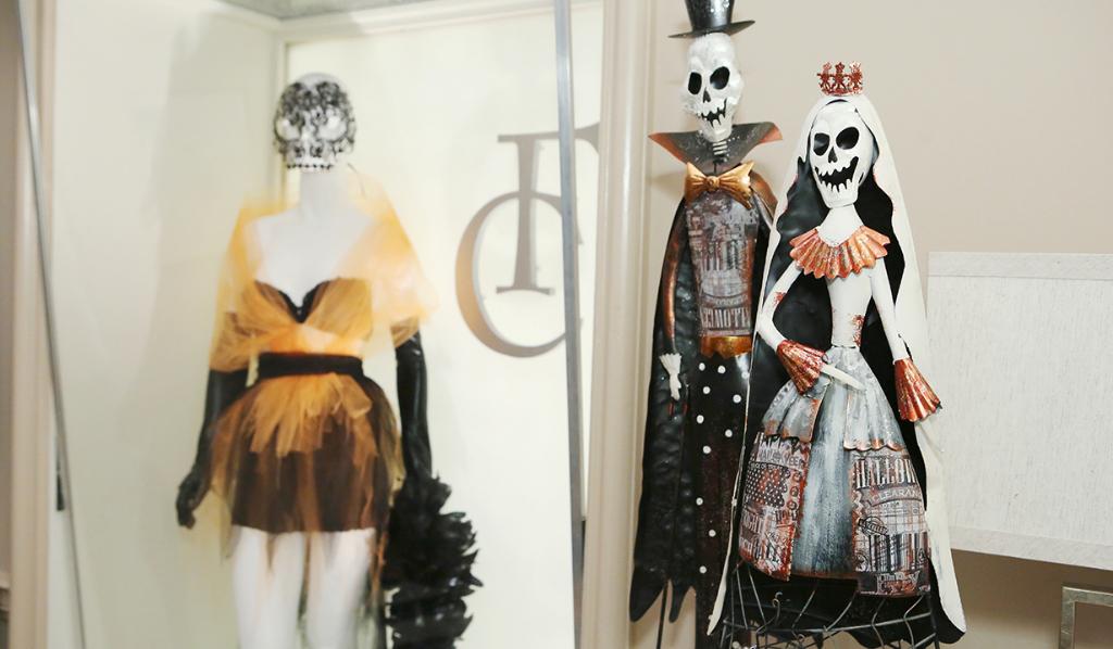 Forrester reception Halloween