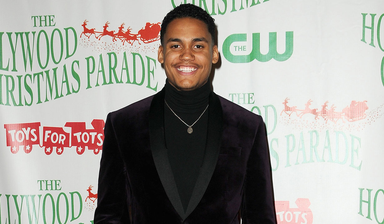 B&B's Adain Bradley at Hollywood Christmas Parade