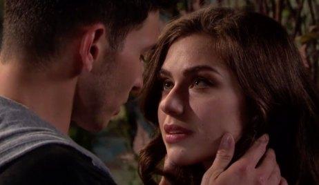 Ciara gazes into Ben's eyes