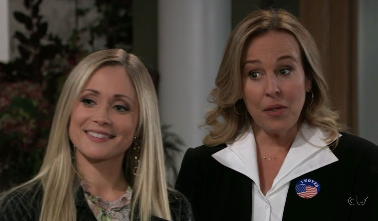Lulu and Laura on General Hospital