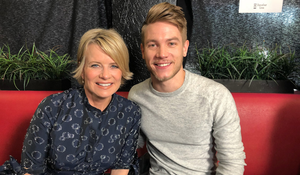 Mary Beth Evans (Kayla) and Lucas Adams (Tripp) Day of Days 2018