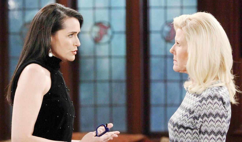 Quinn threatens Pam