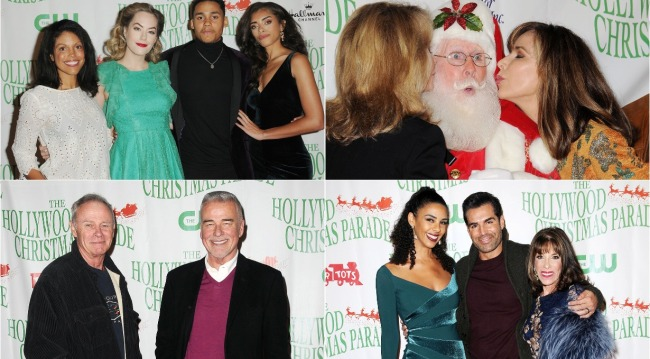 soap stars at 2018 Hollywood Christmas Parade