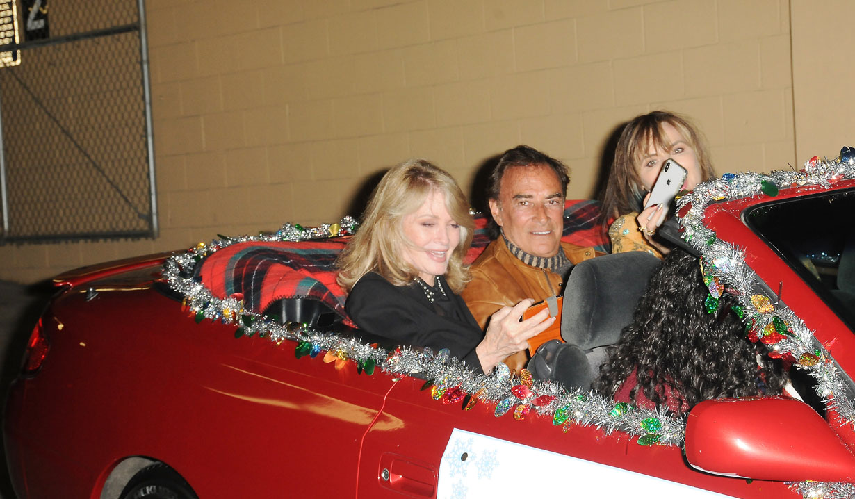 Days stars at Hollywood Christmas Parade
