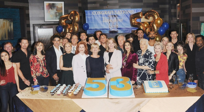 Days of our Lives cast at the 53rd Anniversary party