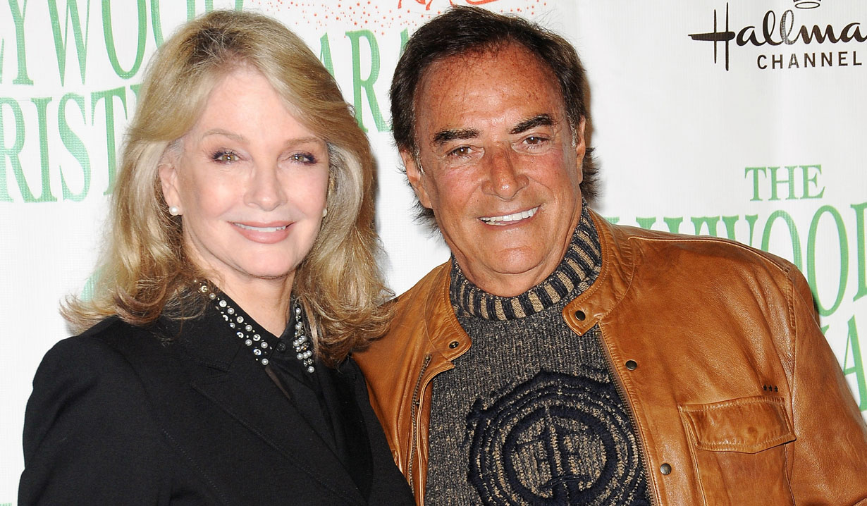 Days' Deidre Hall & Thaao Penghlis at Hollywood Christmas Parade