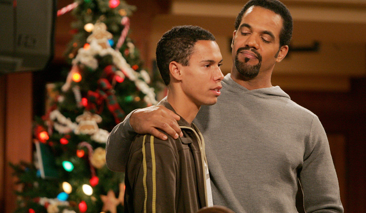 Christmas past with Neil and Devon on Y&R