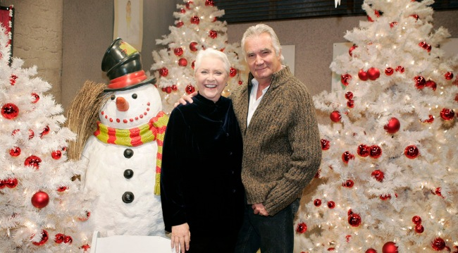 """John McCook, Susan Flannery """"The Bold and the Beautiful"""" 2009"""