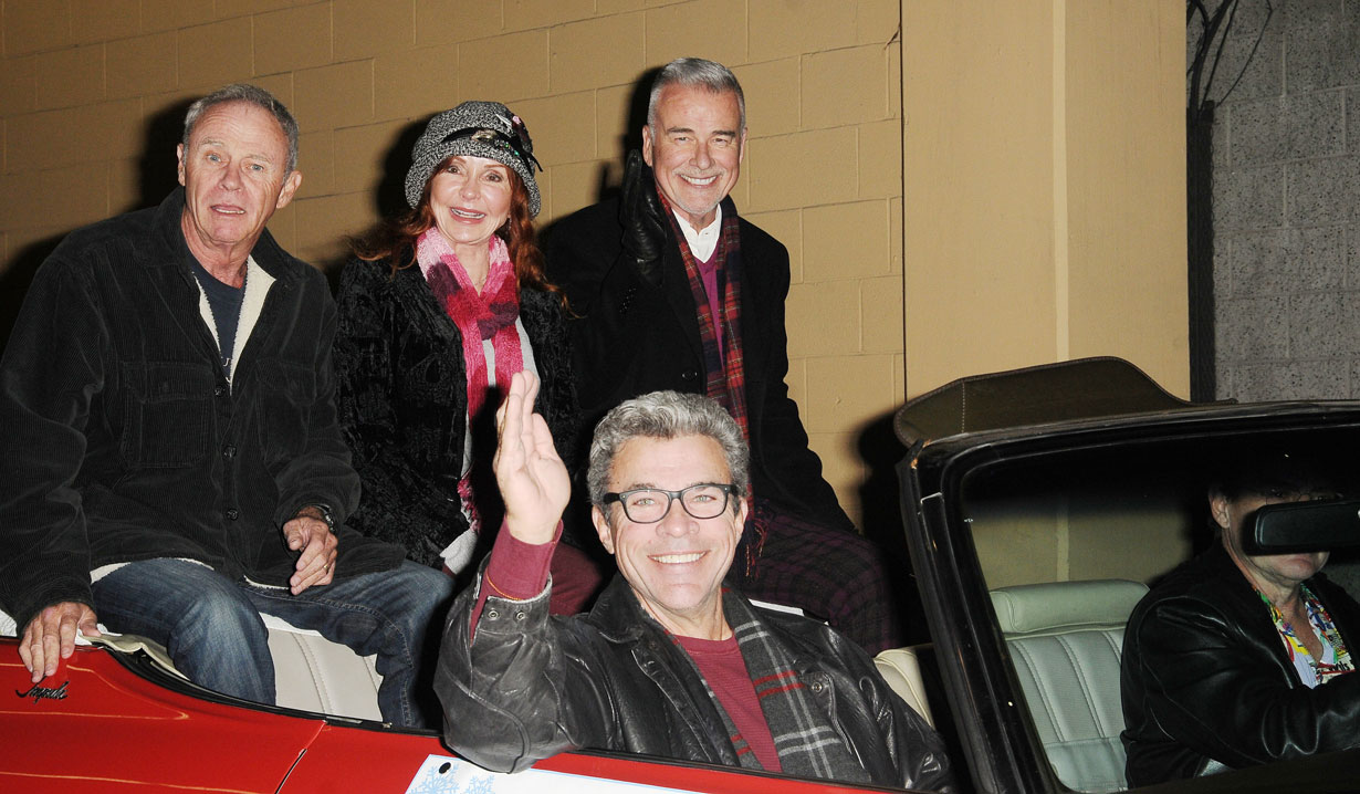 GH stars at Hollywood Christmas Parade
