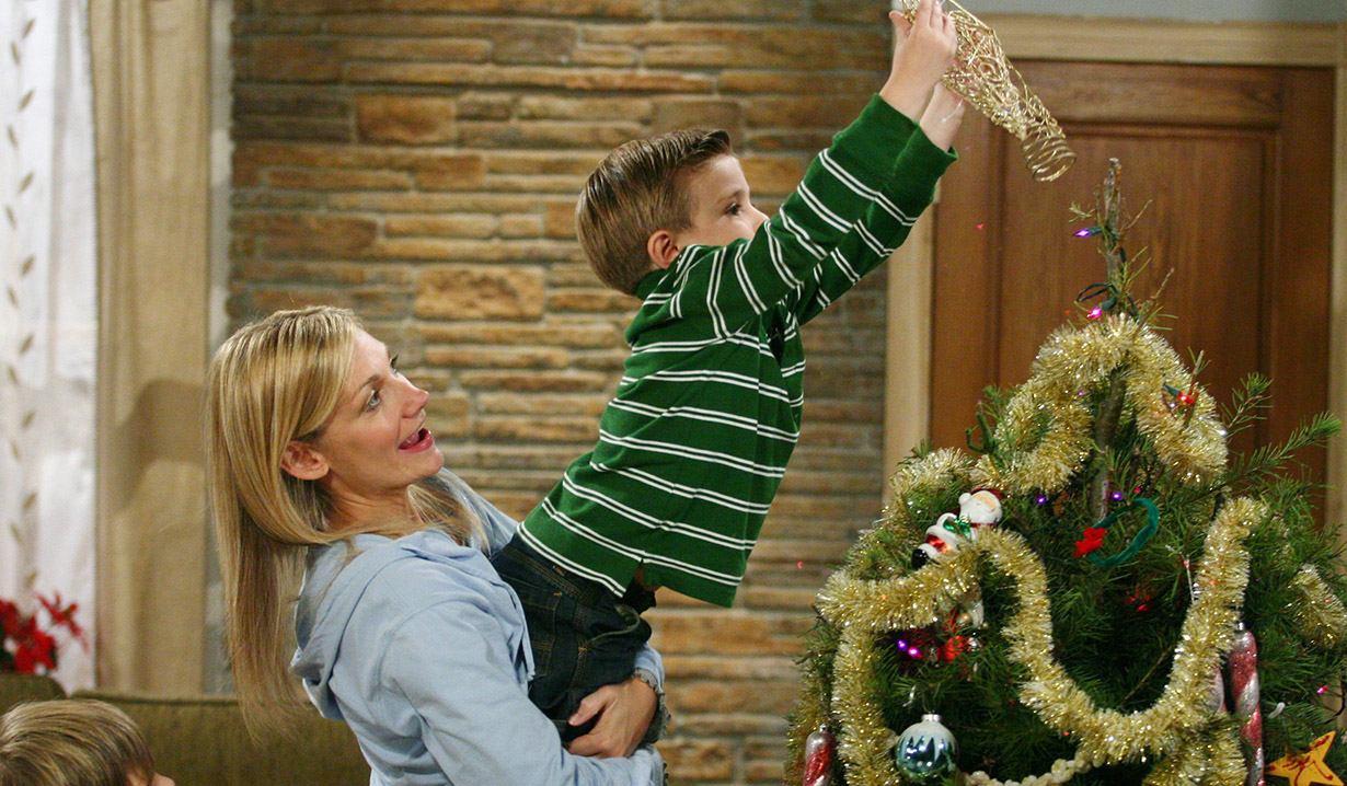Christmas past on Guiding Light