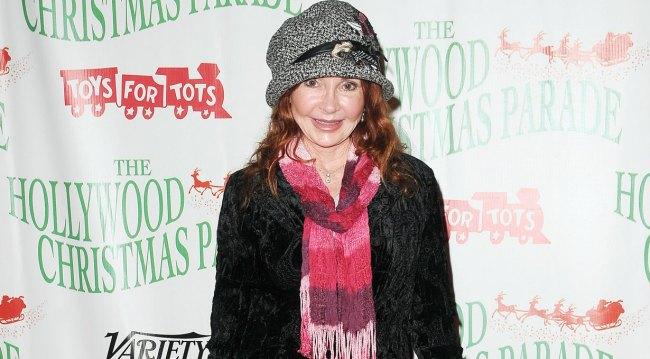 Jackie Zeman at Hollywood Christmas Parade