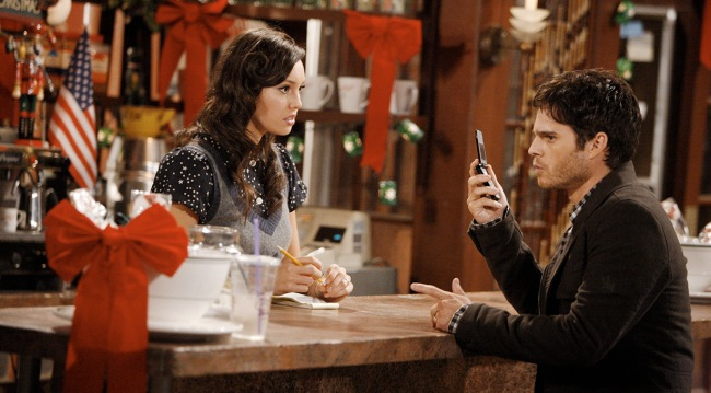 """Greg Rikaart, Emily O Brien """"The Young and the Restless"""" 2008"""