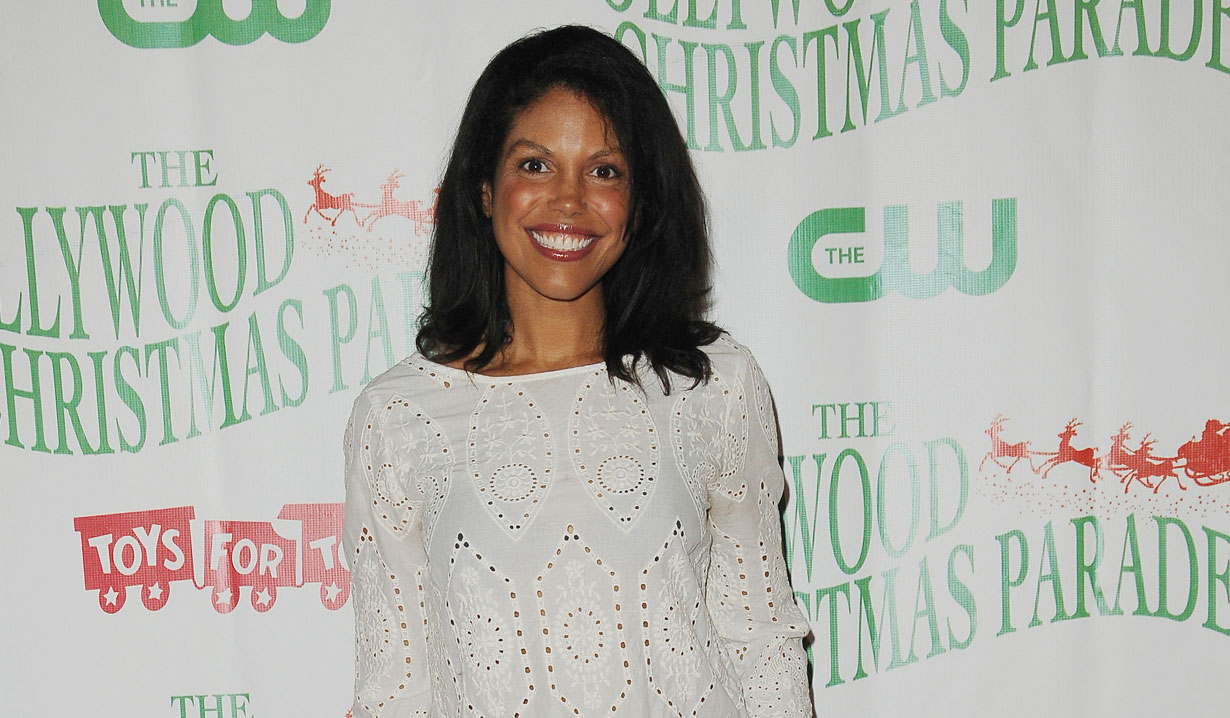 B&B's Karla Mosley at Hollywood Christmas Parade