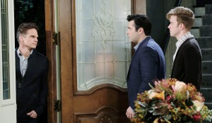 will and sonny shocked to see leo alive