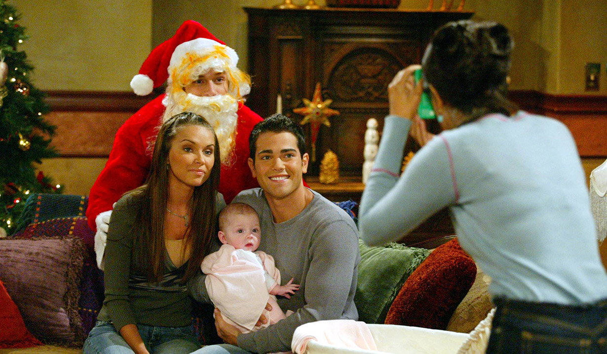 Christmas past on Passions