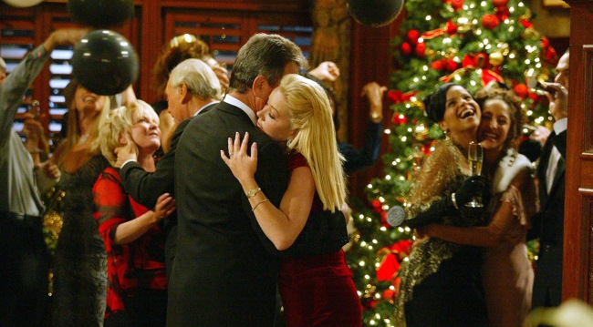 """Eric Braeden and Melody Thomas Scott """"The Young and the Restless"""" 2003"""