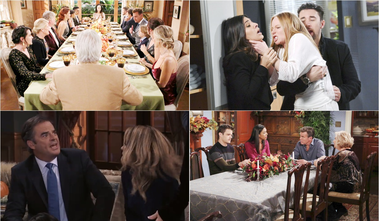 Thanksgiving week 2018 soaps roundup
