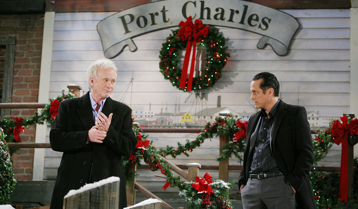 Christmas on GH with Luke and Sonny