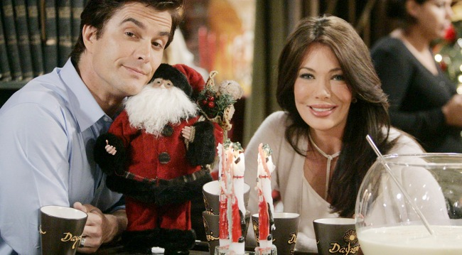 """Rick Hearst, Hunter Tylo """"The Bold and the Beautiful"""" 2010"""
