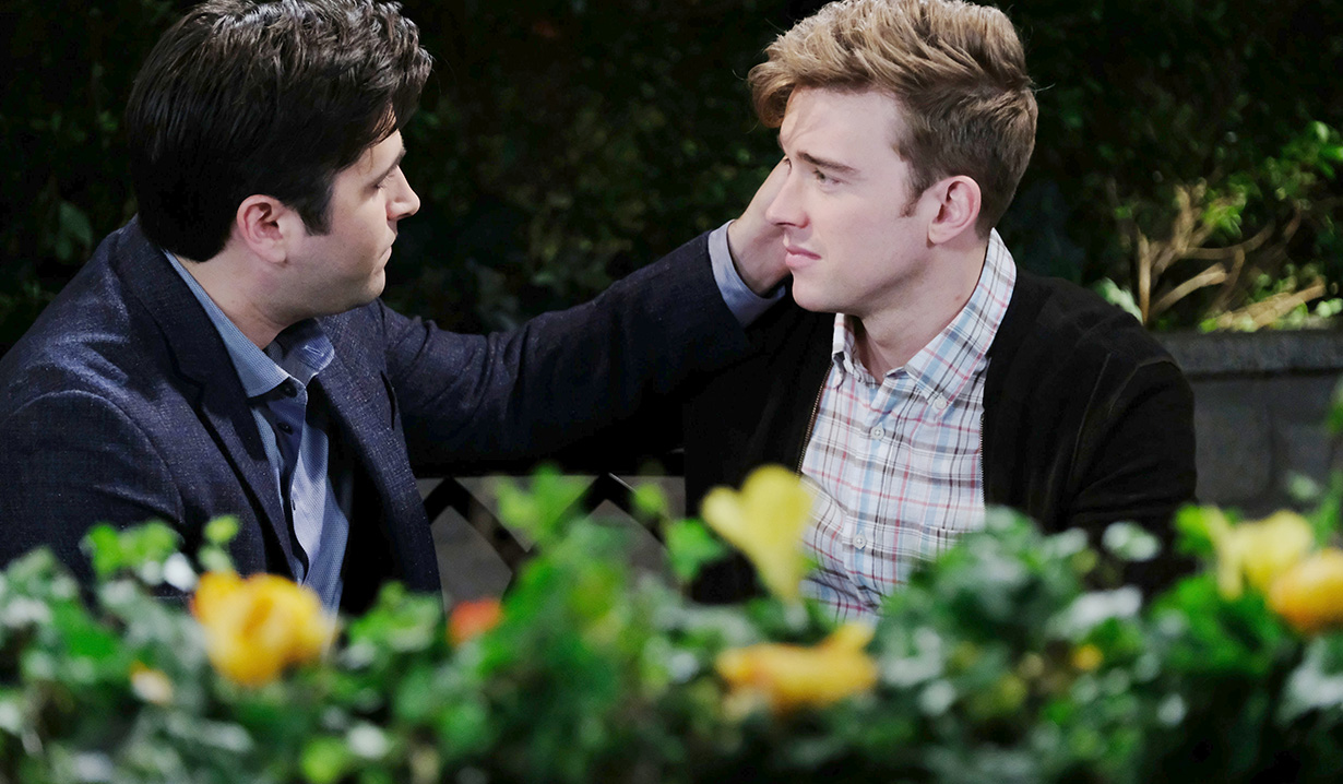 "wilson Will and Sonny reunite Chandler Massey, Freddie Smith""Days of our Lives"" SetNBC StudiosBurbank06/04/18© XJJohnson/jpistudios.com310-657-9661Episode # 13475U.S.Airdate 11/26/18"