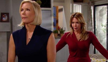 Brooke confronts Taylor