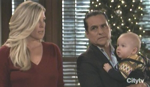 Sonny, Carly and Wylie prepare for the naming GH