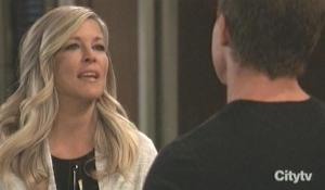 Carly worries to Jason about Sonny GH
