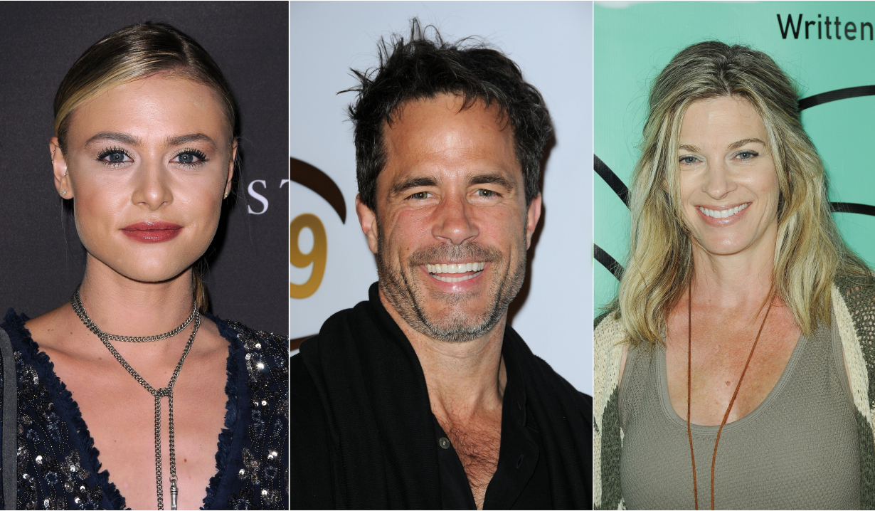 Hayley erin, shawn christian, tracy melchior