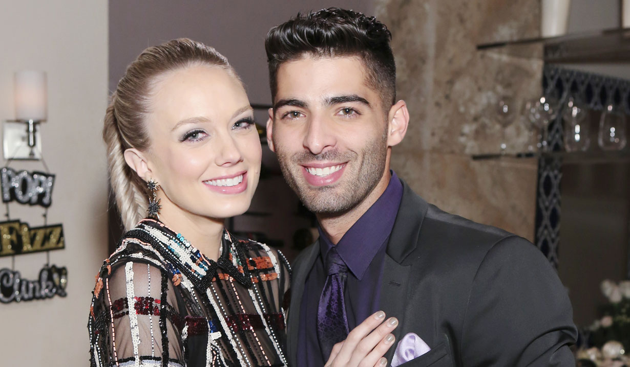 Jason Canela and Melissa Ordway talk onscreen pairing
