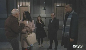 Mike and Yvonne are found by Sonny and Marcus GH
