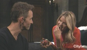 Nina and Valentin plan for the holidays GH